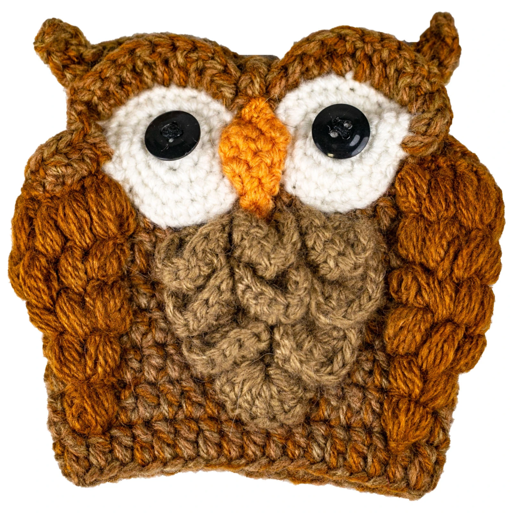 Andes Gifts Animal Cup Cozies: Owl