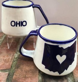 Lucia's Imports Ohio Love Ceramic Mug