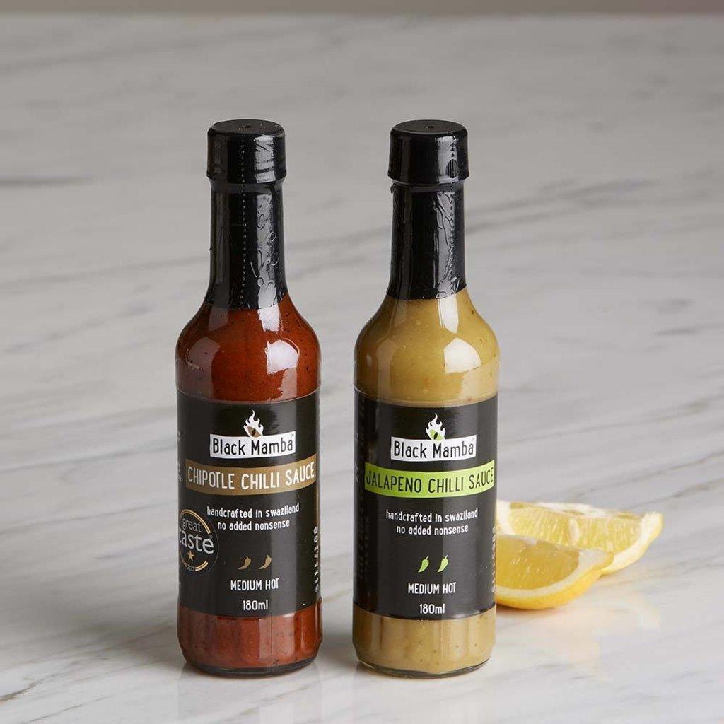 Black Mamba Chili Sauce Black Mamba Jalapeno
