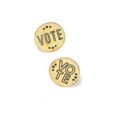 Fair Anita Vote Round Pin