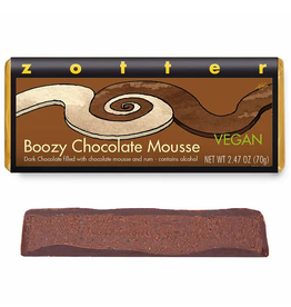Zotter Chocolate Boozy Chocolate Mousse Hand-Scooped Chocolate