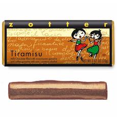 Zotter Chocolate Tiramisu Hand-Scooped Chocolate