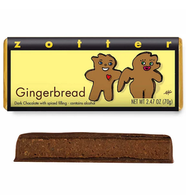 Zotter Chocolate Gingerbread Hand-Scooped Chocolate