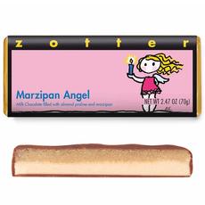 Zotter Chocolate Marzipan Angel Hand-Scooped Chocolate