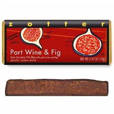 Zotter Chocolate Port Wine & Fig Hand-Scooped Chocolate