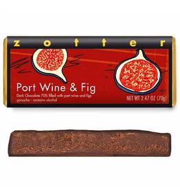 Zotter Chocolate Port Wine & Fig Hand-Scooped Chocolate