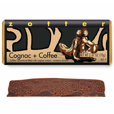 Zotter Chocolate Cognac & Coffee  Hand-Scooped Chocolate