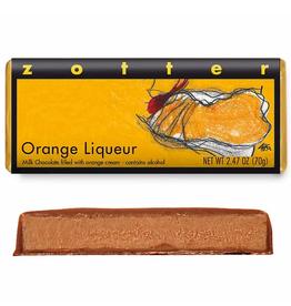 Zotter Chocolate Orange Liqueur Hand-Scooped Chocolate