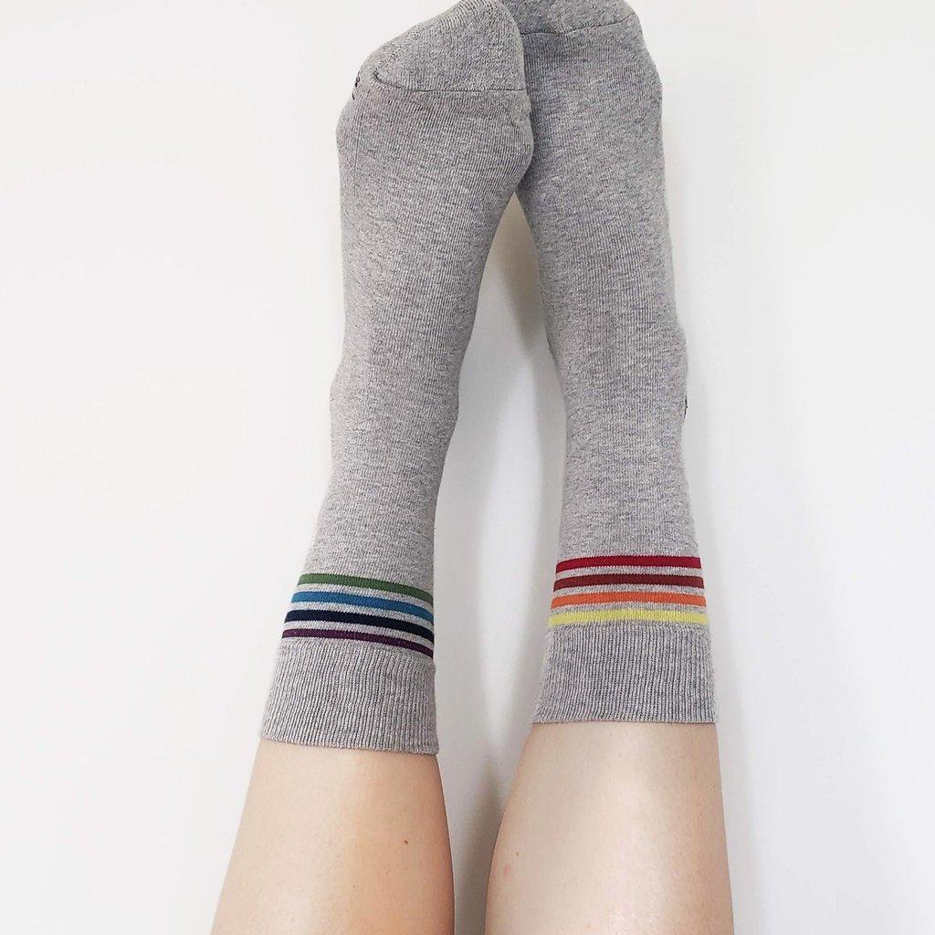 Conscious Step Socks that Save LGBTQ Lives: Grey