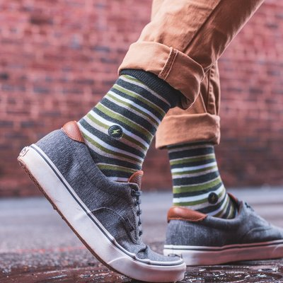 Conscious Step Socks that Provide Relief: Stripes