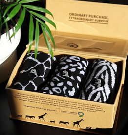 Conscious Step Socks That Protect Wild Animals Gift Box Small