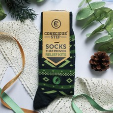 Conscious Step Socks that Provide Relief: Tribal