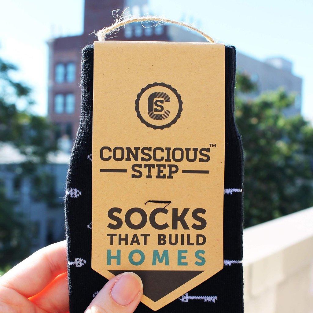 Conscious Step Socks that Build Homes: Keys