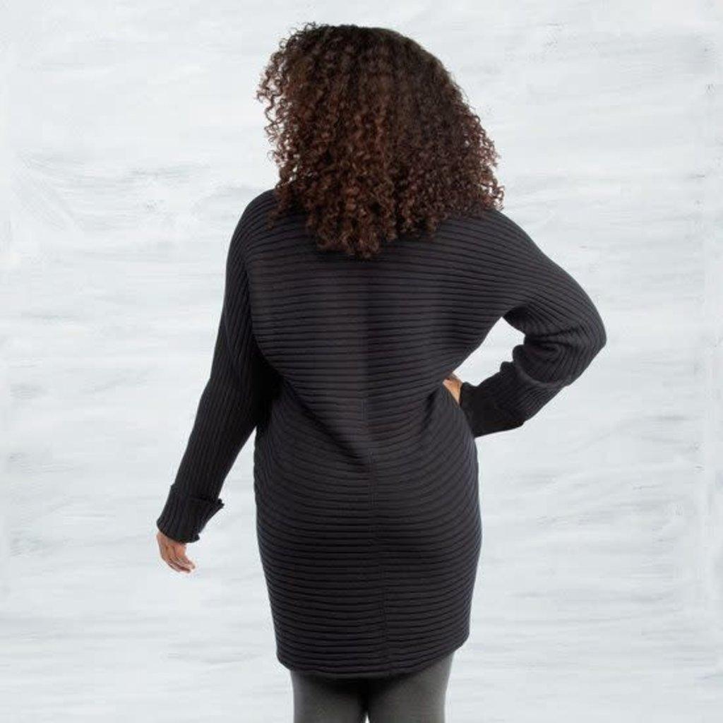 Maggie's Organics Organic Cotton Circle Sweater: Black