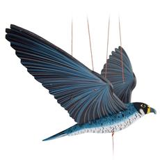 Tulia's Artisan Gallery Flying Peregrine Falcon Mobile