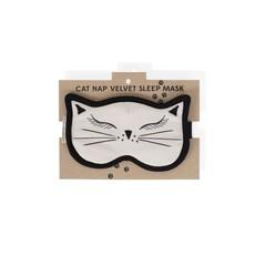 Ten Thousand Villages Cat Nap Velvet Sleep Mask