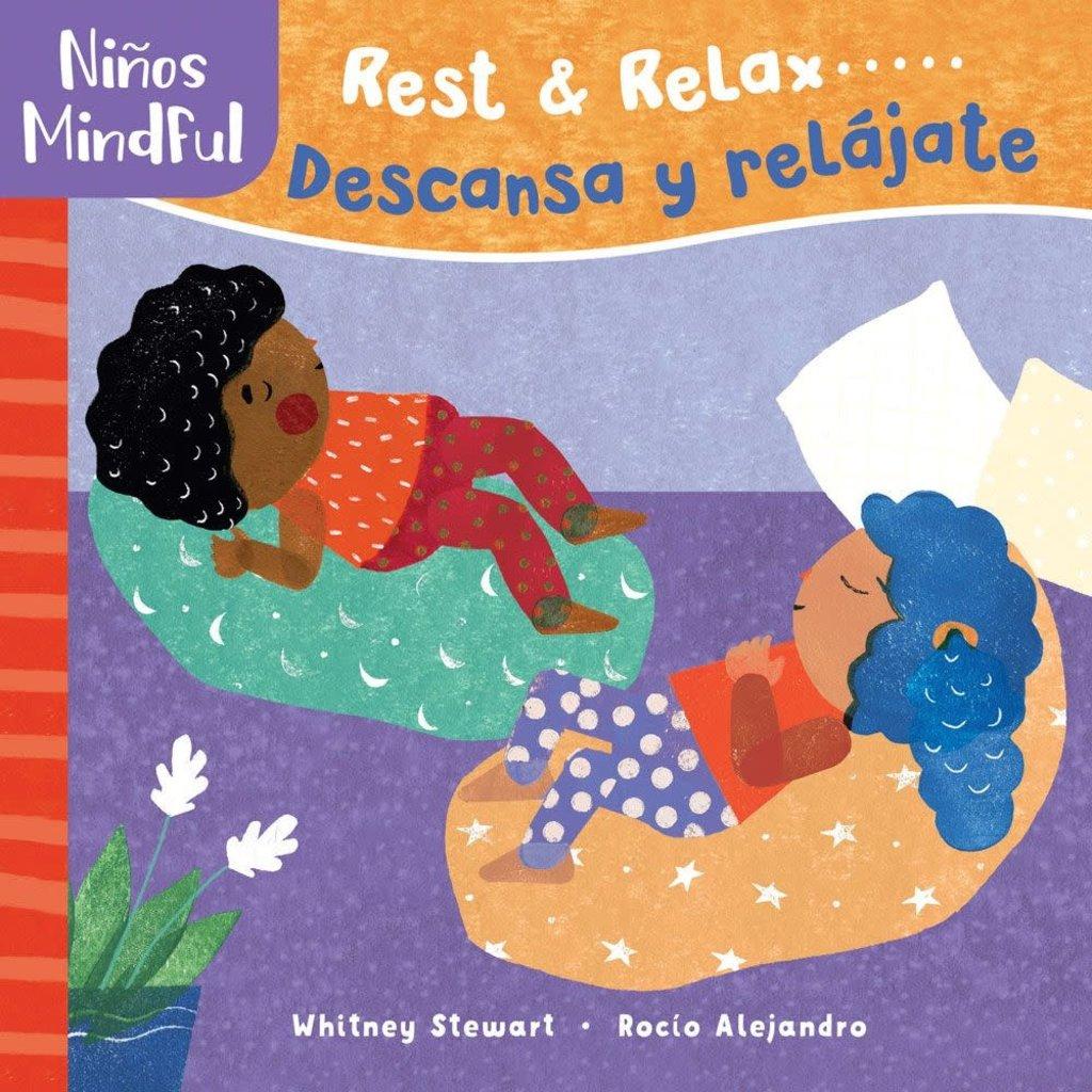 Barefoot Books Mindful Tots: Rest & Relax (Bilingual Spanish)