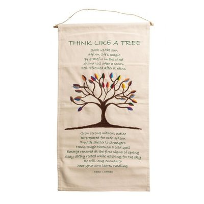 Ten Thousand Villages Tree Poem Wall Hanging