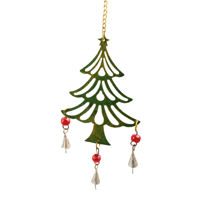 Mira Fair Trade Festive Christmas Tree Chime