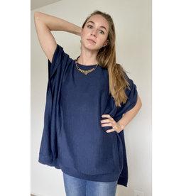 Ella Ember Luxury Baby Alpaca Poncho Sweater