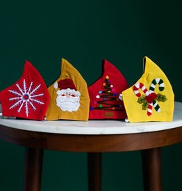 Lucia's Imports Christmas Tree Holiday Face Mask