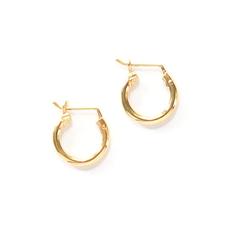 Fair Anita Adriana 14K Gold-plated Sterling Hoop Earrings