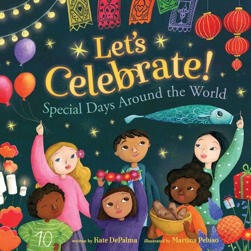 Barefoot Books Let's Celebrate! Special Days Around the World