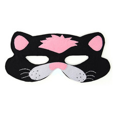 Minga Imports Felt Play Mask Cat