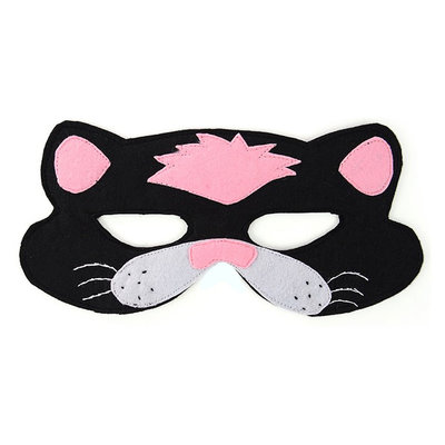 Minga Imports Felt Play Mask Cat