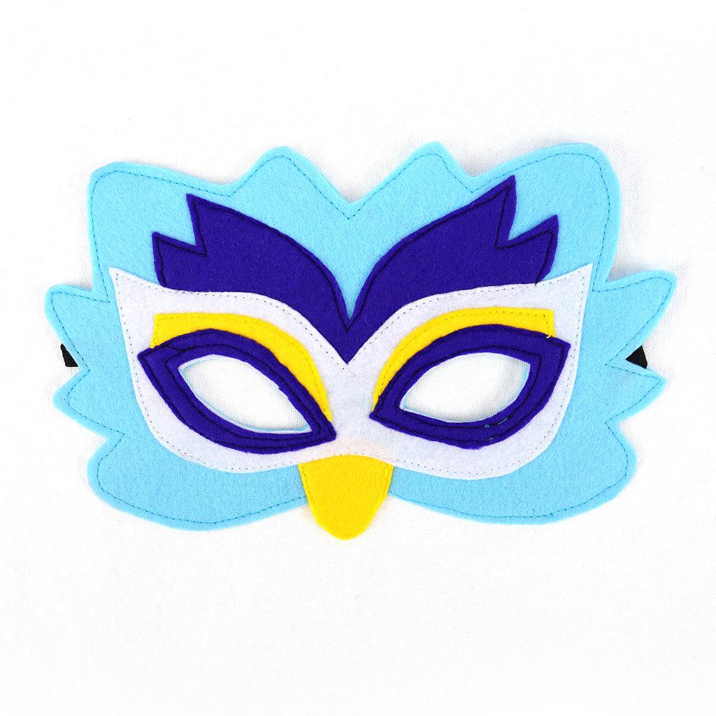 Minga Imports Felt Play Mask Owl
