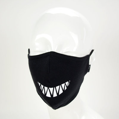 Minga Imports Expression Face Mask: Spiked Teeth
