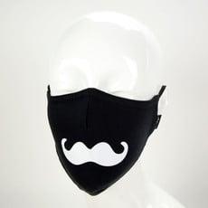 Minga Imports Expression Face Mask: Handlebar Mustache