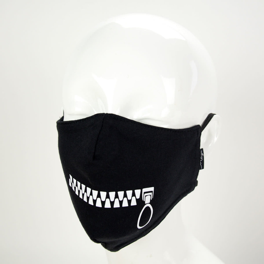 Minga Imports Zipper Face Mask