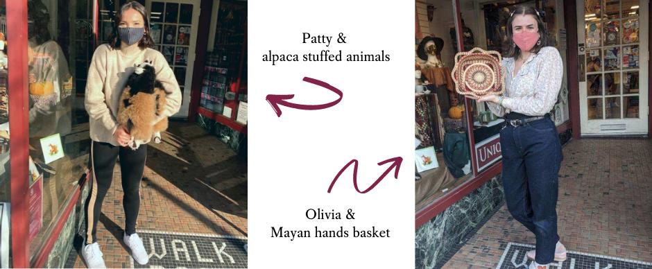 Patty & Olivia's favorite fair trade items