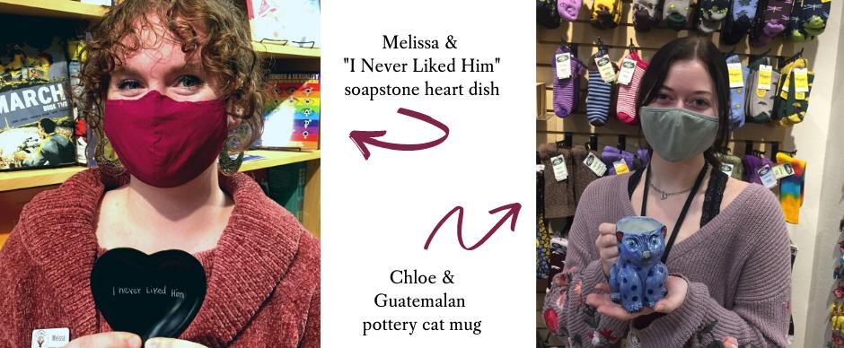 Melissa & Chloe's favorite items.