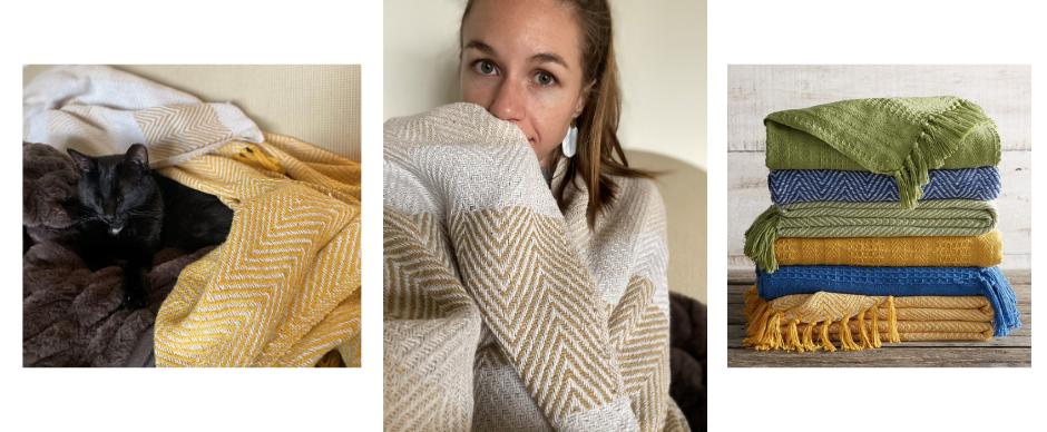 Sarah's favorite blankets.
