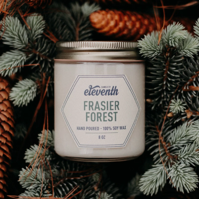Eleventh Candle Co Frasier Fir Candle 8oz