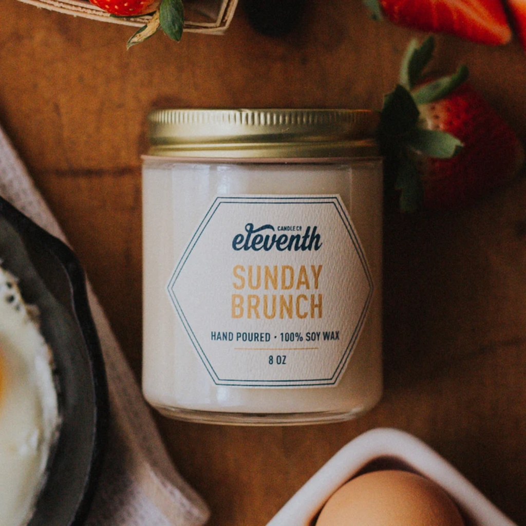 Eleventh Candle Co Sunday Bruch Candle 8oz