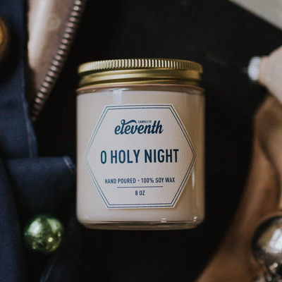 Eleventh Candle Co O Holy Night Candle 8oz