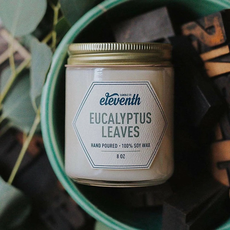 Eleventh Candle Co Eucalyptus Leaves Candle 8oz