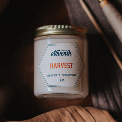 Eleventh Candle Co Harvest Candle 8oz