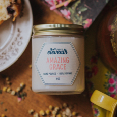 Eleventh Candle Co Amazing Grace Candle 8oz