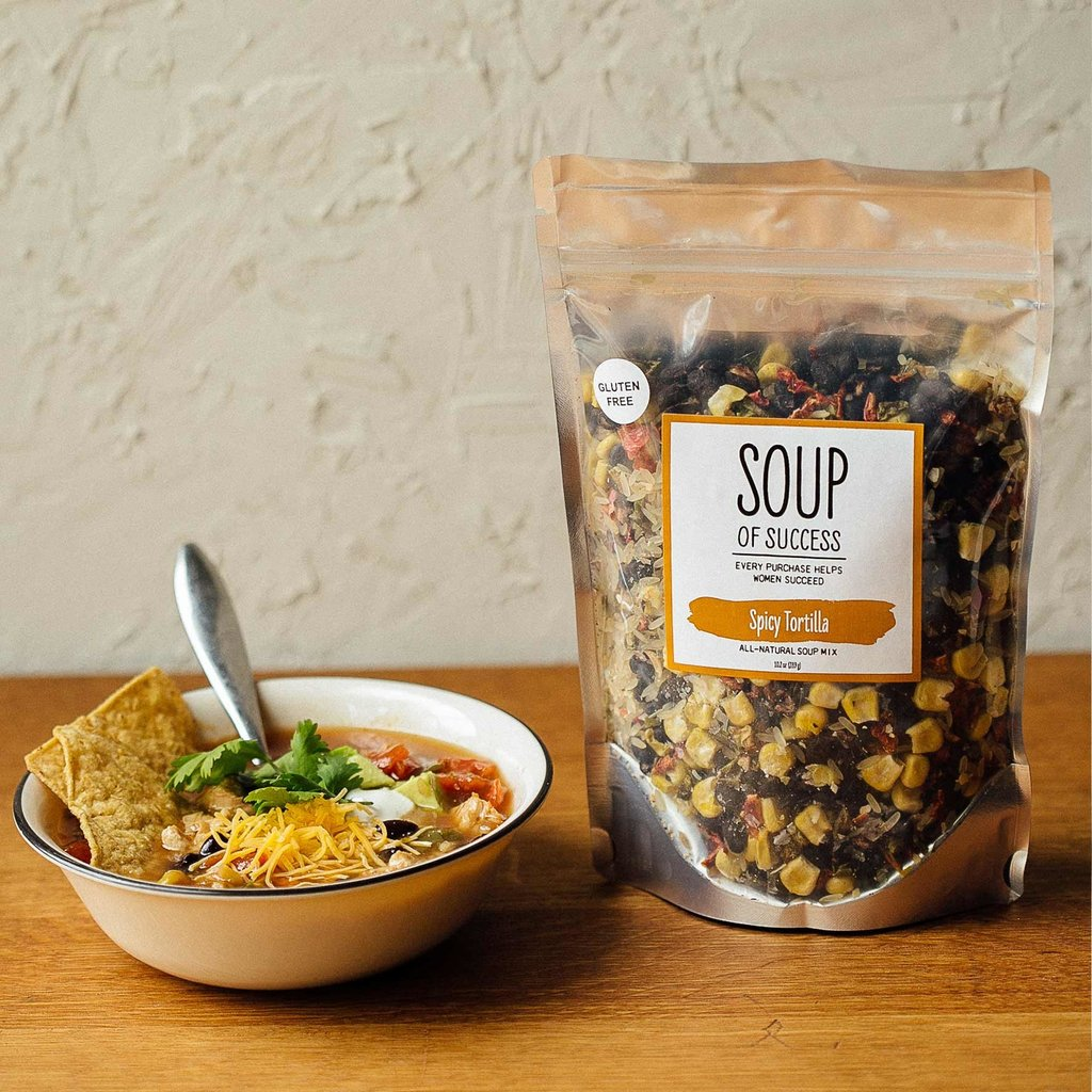 Soup of Success Spicy Tortilla Soup - Gluten Free