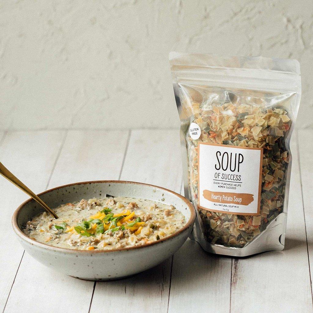 Soup of Success Hearty Potato Soup - Gluten Free