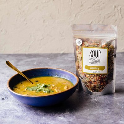Soup of Success Coconut Curry Soup - Gluten Free