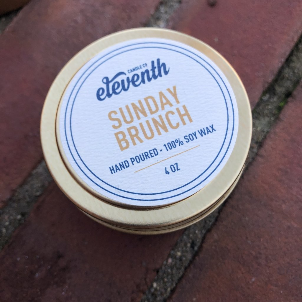 Eleventh Candle Co Sunday Brunch Candle 4oz