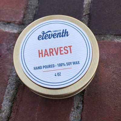 Eleventh Candle Co Harvest Candle 4oz