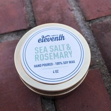 Eleventh Candle Co Sea Salt And Rosemary Candle 4oz