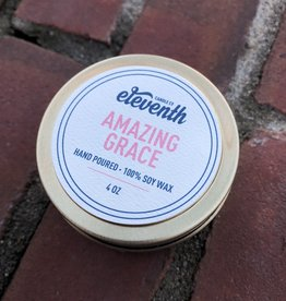 Eleventh Candle Co Amazing Grace Candle 4oz