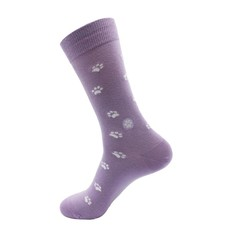 Conscious Step Socks that Save Dogs Lavender